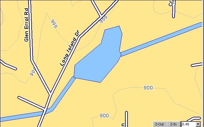 Us Map Contour